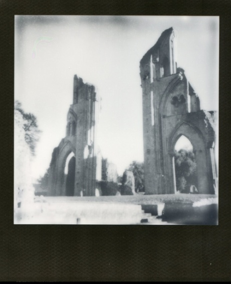 Glastonbury Abbey Black Frame